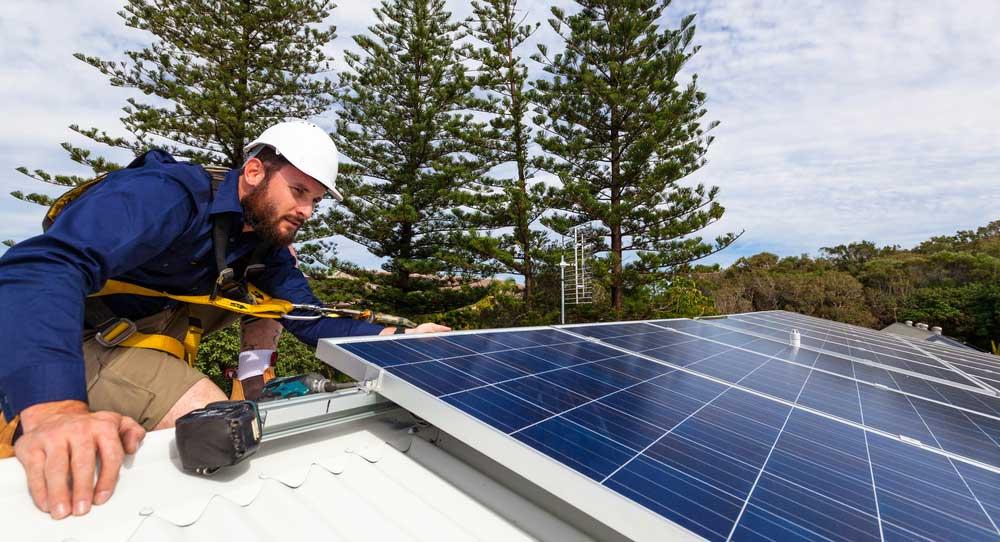 solar panels in california